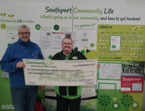 Asda raises £200 for Special Athletes