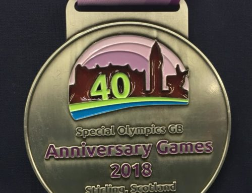 Medal Success at Anniversary Games