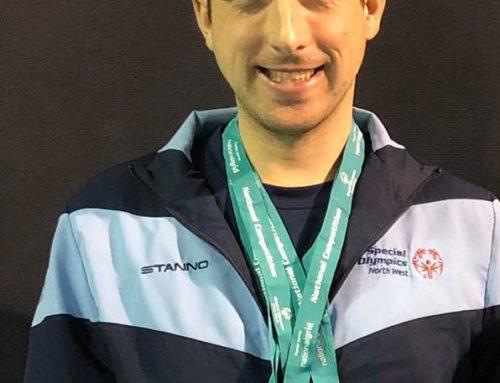Dan wins full set of medals
